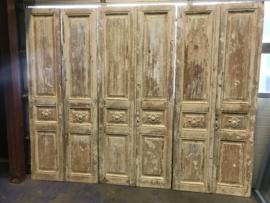 nr. set790  serie gelijke setjes deuren