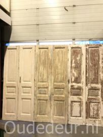 nr. set709 drie gelijke sets antieke deuren