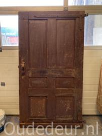 nr. 1420 antieke brede lage deur