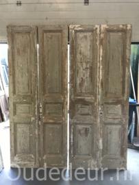 nr, set 981 8 gelijke sets antieke deuren