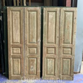 nr. set623 twee sets antieke deuren