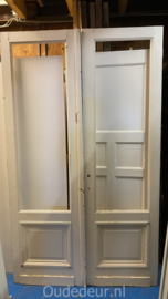 nr. set554 set deuren zonder glas