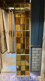 nr. GL564 glas in lood in stalen frame