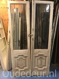 nr. set872 2 gelijke sets kaal gemaakte deuren