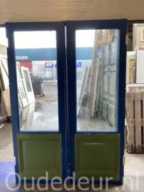 nr. set402 antieke dubbele deuren