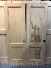 nr. 1S  twee oude kastdeuren