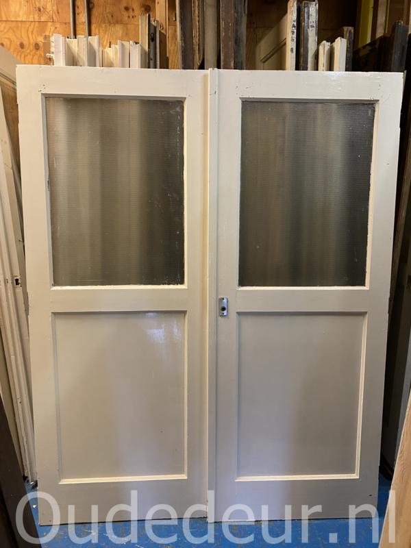 nr. set580 set deuren met een ruit (meerdere stuks)