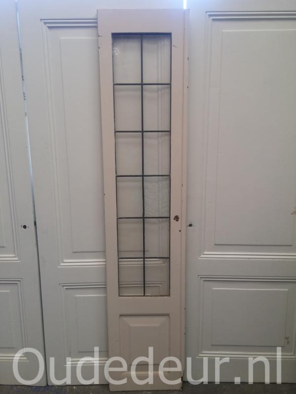 nr. 1215 smalle glas in lood deur