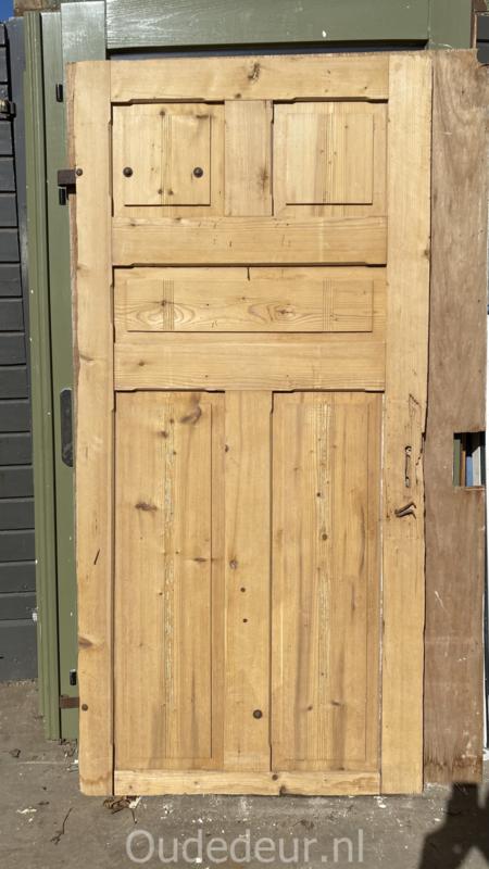 nr. 1430 antieke geloogde deur