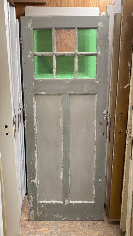 nr. 1172 oude paneeldeur met 6 ruiten