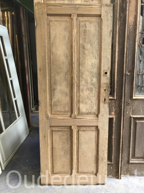 nr.  4312 oude grenen kale deur