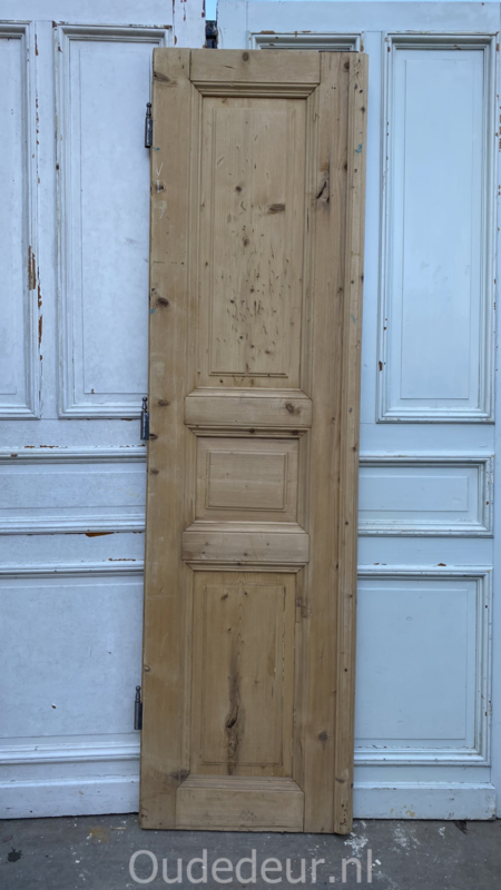 nr. 1452 antieke geloogde deur