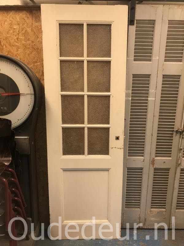nr. 2282 oude deur met 8 ruiten