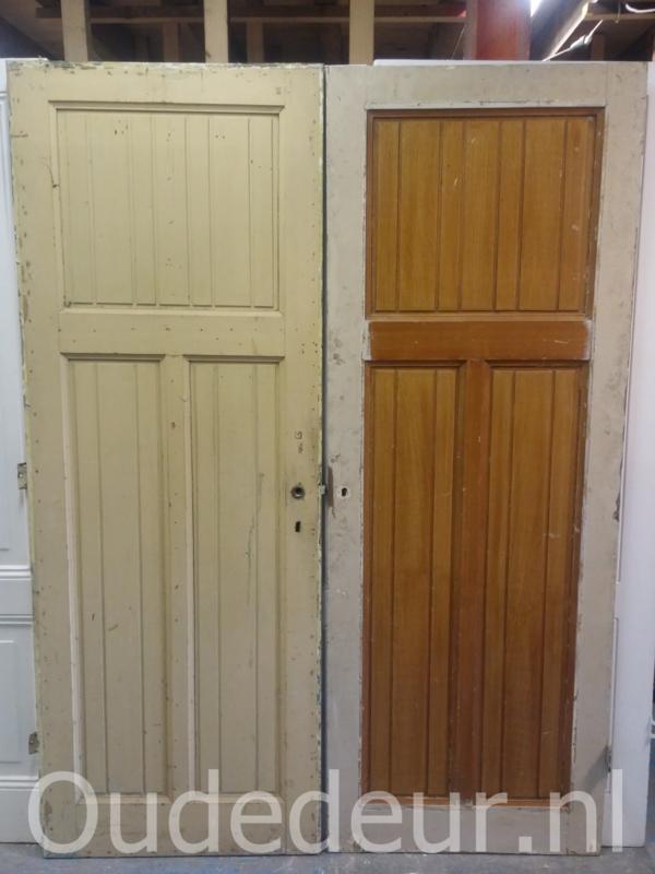 nr. 1236 deur met drie vakken