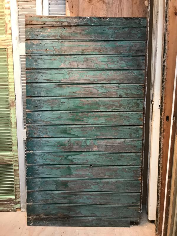 nr. 1998 oude brede opgeklampte deur