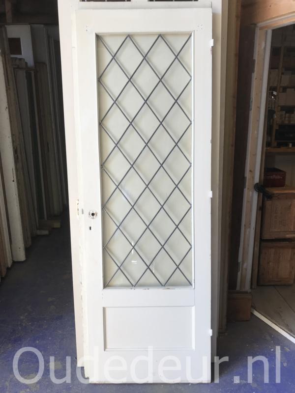 nr. gl347 jaren dertig deur glas in lood