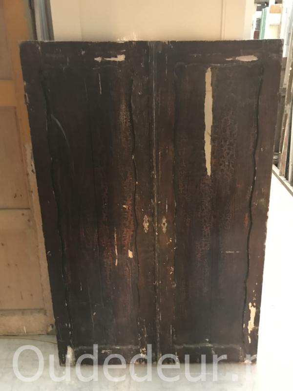nr. set 4225 setje oude kastdeuren