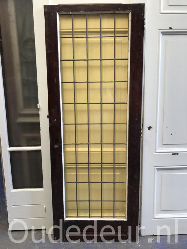 nr. gl264 lage glas in lood deur