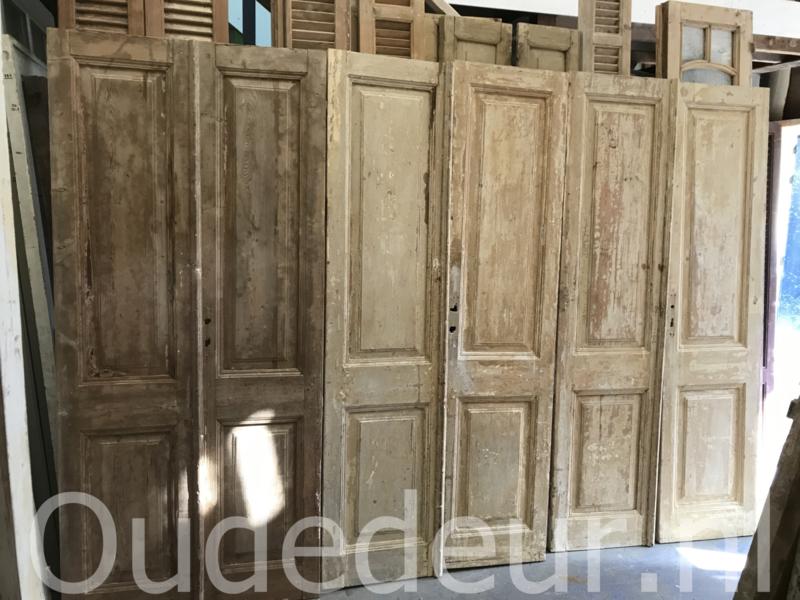 nr. set820 serie van zes gelijke sets oude deuren