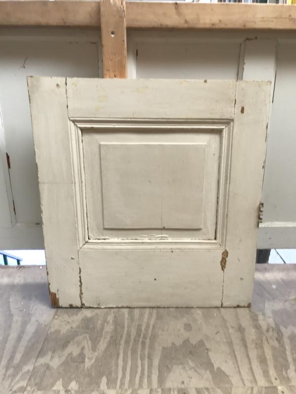 nr. 4384 antiek deurtje met 1 paneel