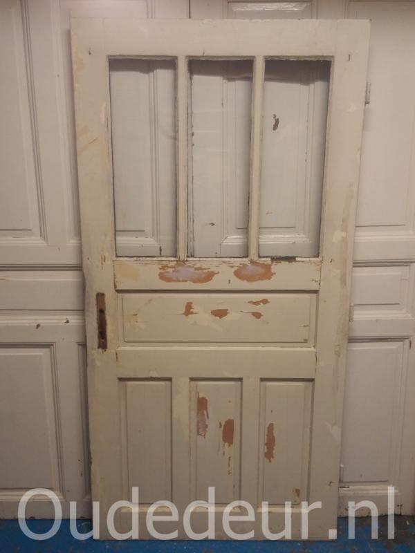 nr. 1304 brede antieke glasdeur