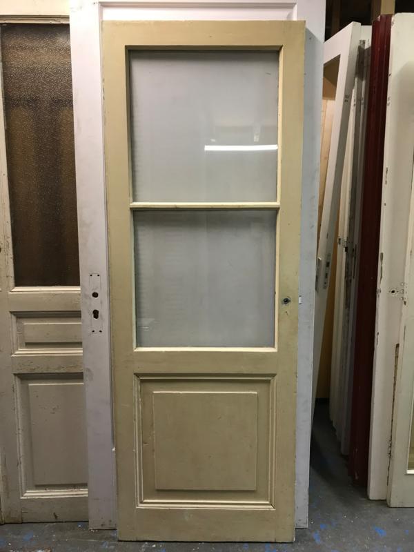 nr. 2221 antieke glasdeuren met 2 ruiten
