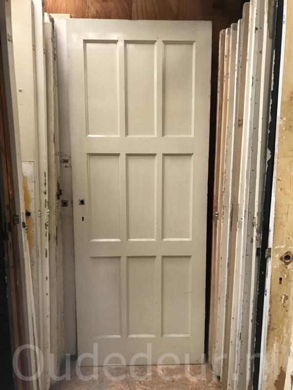 nr. 1057  jaren dertig deur 82.5*211
