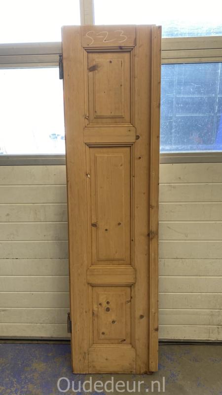 nr. 1460 antieke geloogde deur
