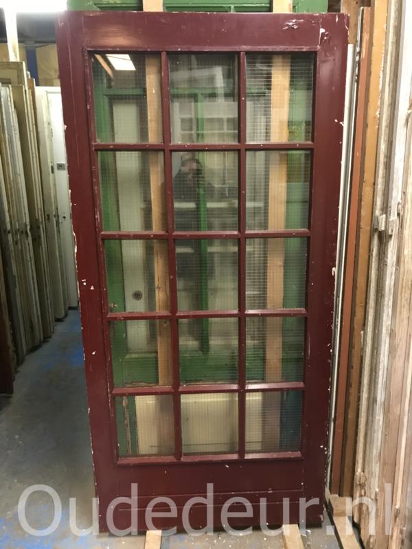 nr. 1283 brede deur met ruiten