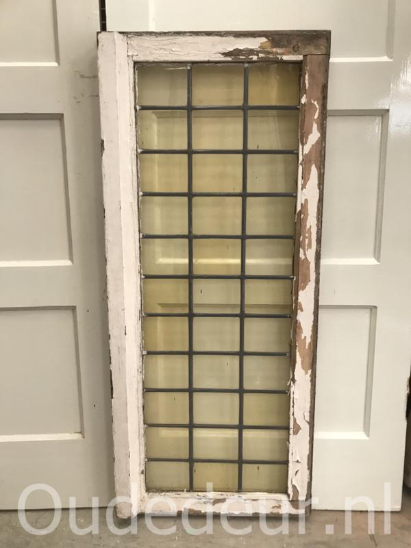 nr. GL417 oude glas in lood raam