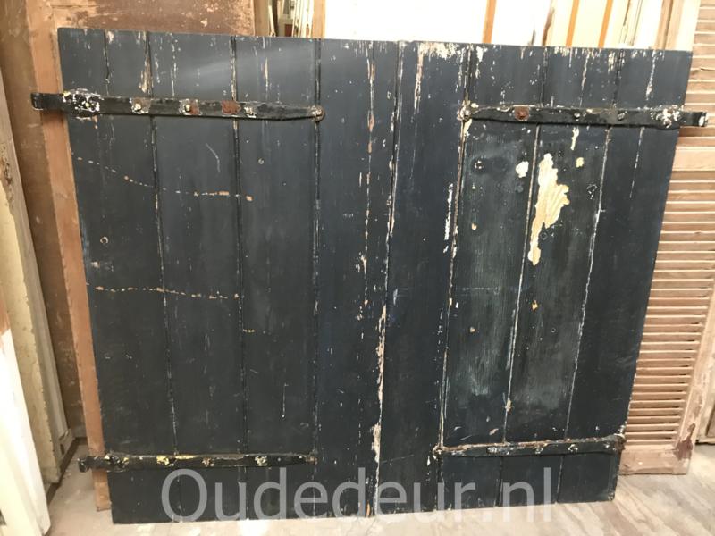nr. set 4292 stel oude raamluiken