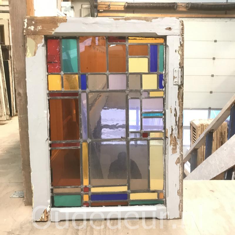 nr. GL428 glas in lood raam