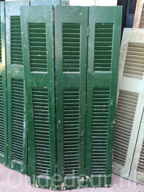 nr, L267a 3 groene louvres