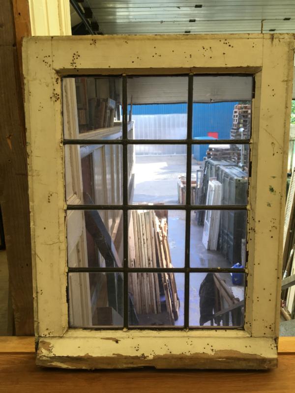 nr. GL356 helder glas in lood raam