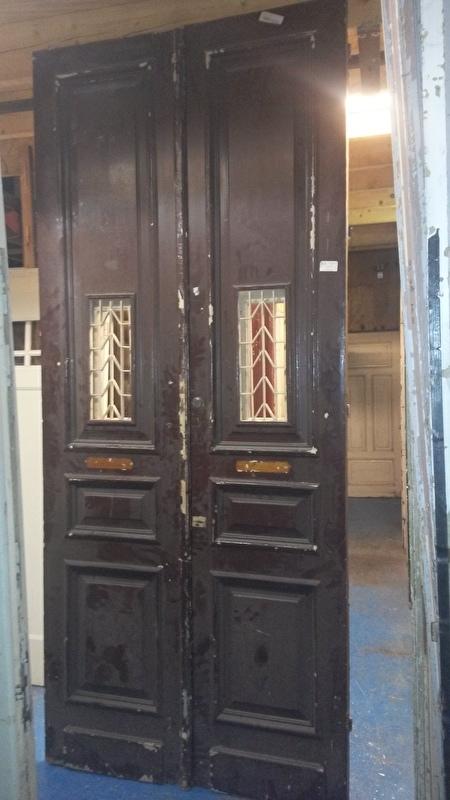 nr. set431 set hoge deuren met rooster