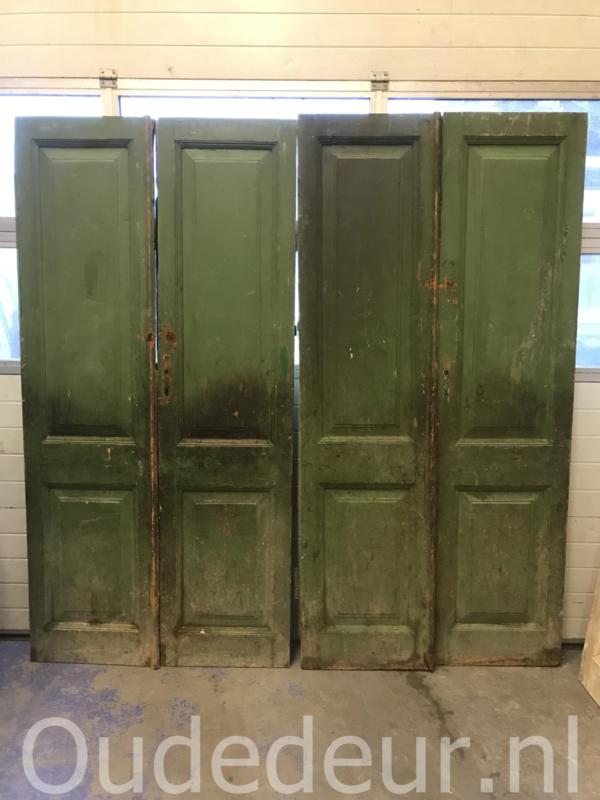 nr. set927 setje deuren 57,5 x 232