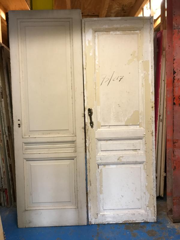 nr. 91 antieke deuren drie vakken, meerdere stuks