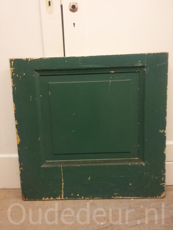 nr. 1650 antieke groene deurtje