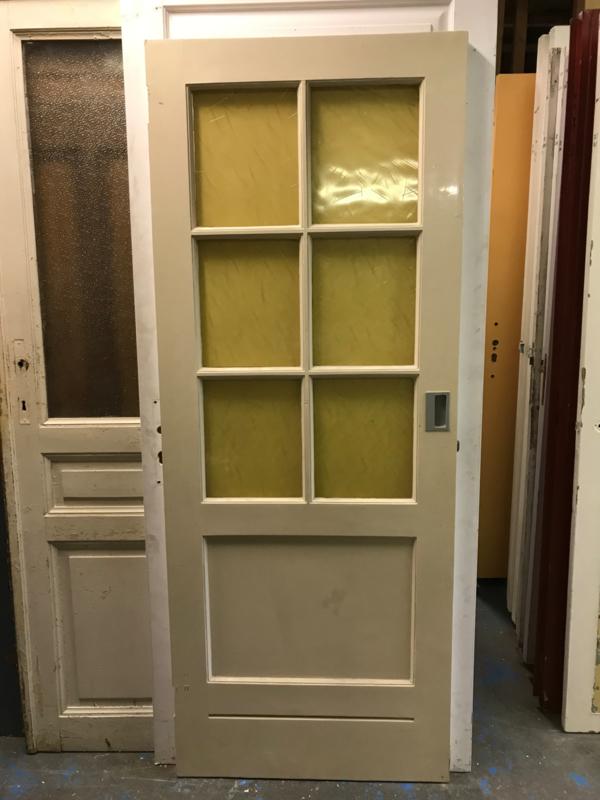 nr. 2216 glasdeur met 6 ruiten