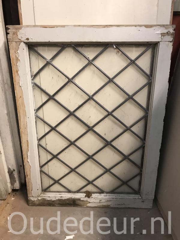 nr. GL406 oude glas in lood raam ,  wybertjes