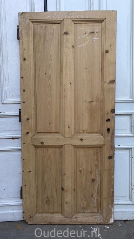 nr. 1439 antieke geloogde deur