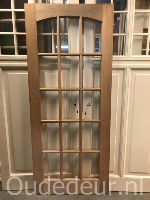 nr. 2278 hardhouten ongebruikte deur zonder glas