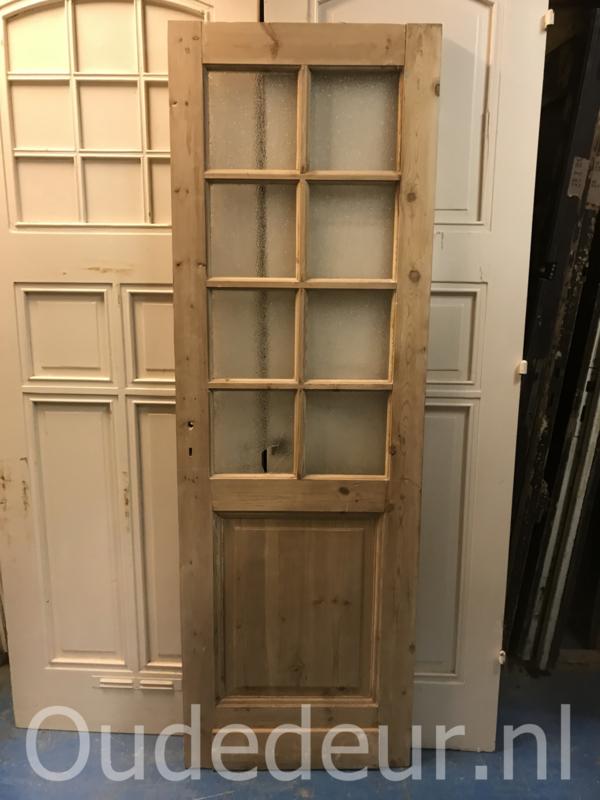 nr. 2244 oude geloogde glasdeur