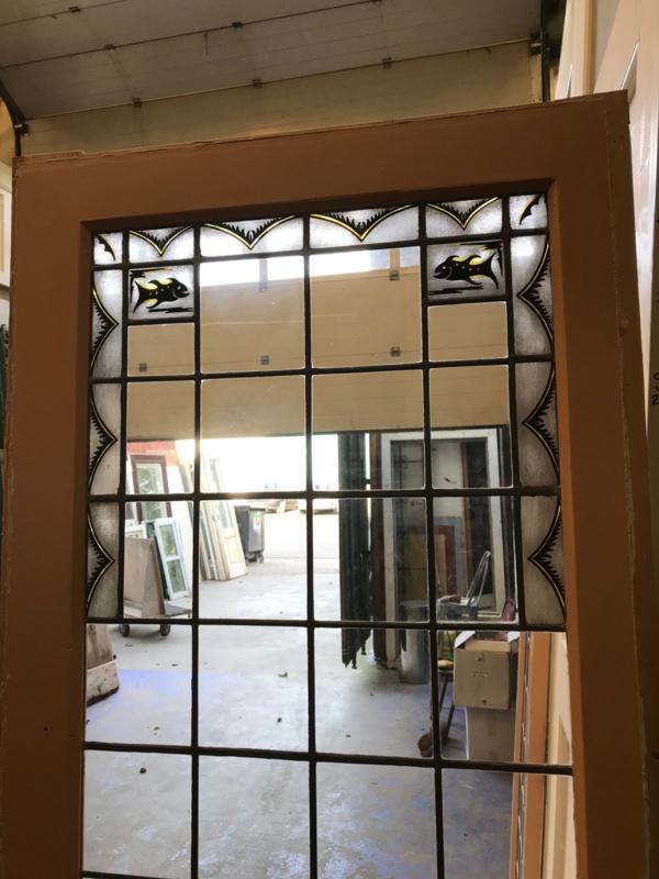 Ensuite Deuren Glas In Lood.Nr E156 Set Ensuite Deuren Met Glas In Lood Kamer En Suite Deuren