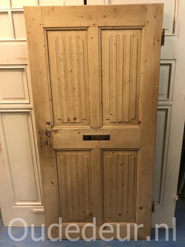nr. 1273 geloogde oude deur laag