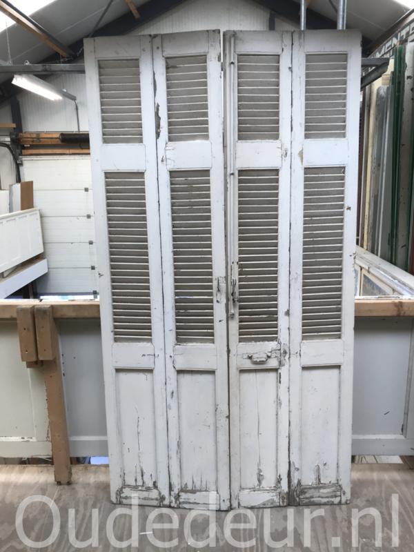 nr. L192 set  oude louvre deuren