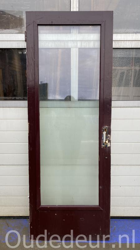 nr. V189 buitendeur dubbelglas