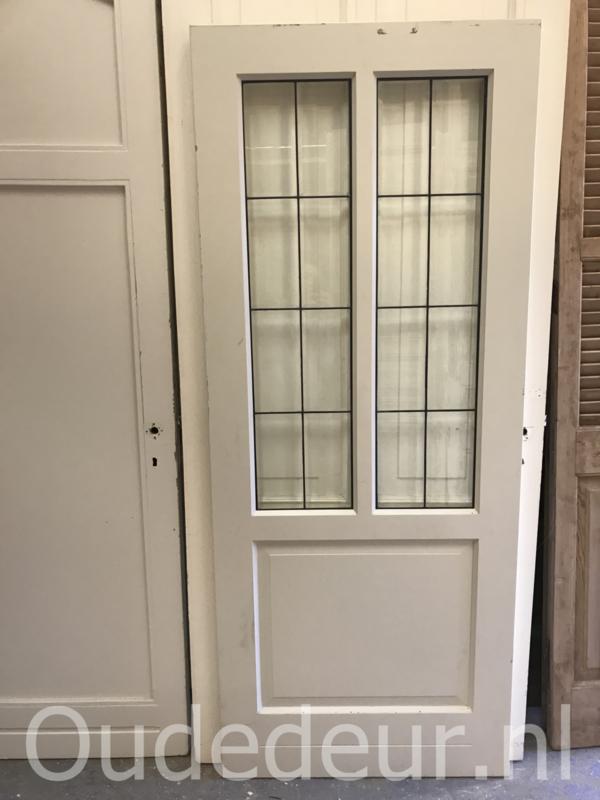 nr. GL445 nette glas in lood deur