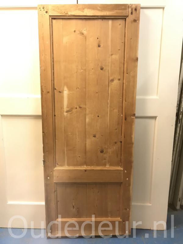 nr. 1072 kale deur met twee vakken