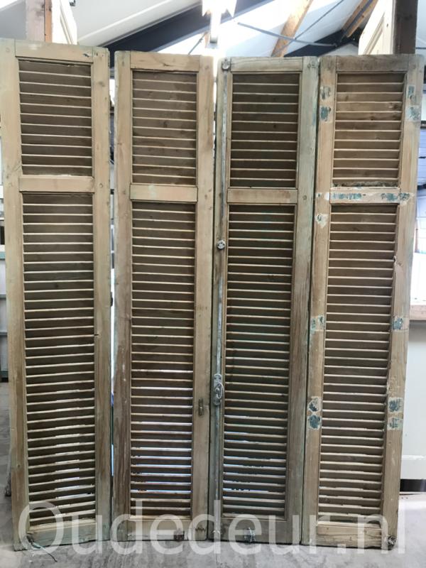 nr. L563L serie geloogde oude louvre deuren